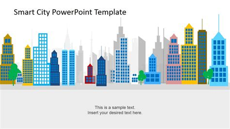 powerpoint templates urban design smart city powerpoint template slidemodel