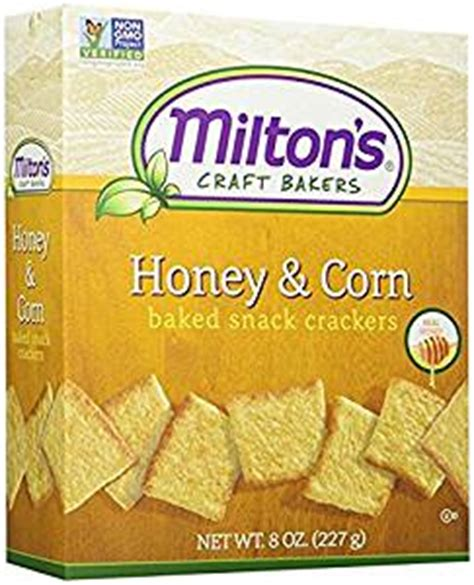 Bites Baby Rice Crackers Mb01 miltons honey corn bread bite size crackers 8 0 oz pack of 3 grocery gourmet food
