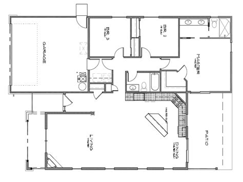 floor plan door door floor raise doors to ceiling height