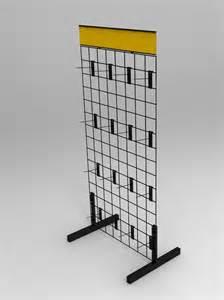 wire gridwall display rack 11051 ebay