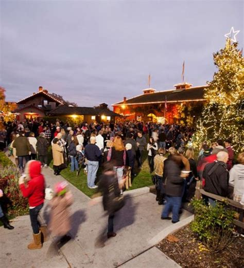 yountville festival of lights 2017 visit napa valley wineries hotels events restaurants