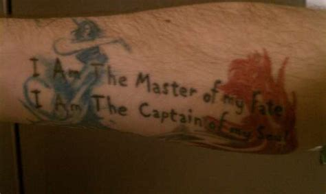 invictus tattoo invictus