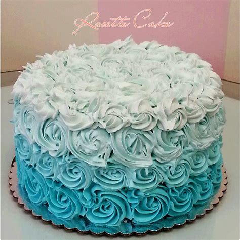 Pin Purple Ombre Rosette Cake Cake on Pinterest
