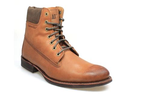 Sepatu Caterpilar Boot Brown Style Hikking Outdoors Trendy caterpillar walton mens barnaby brown leather lace up boots shoes size 7 11 ebay