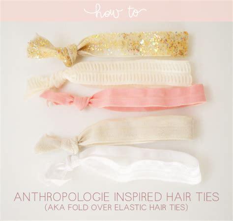 diy anthropologie multitude hair ties tutorial from love u tutorial anthropologie inspired hair ties megan nielsen
