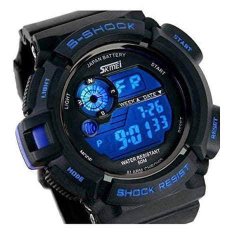 timsty electronic quartz digital watches for boy water