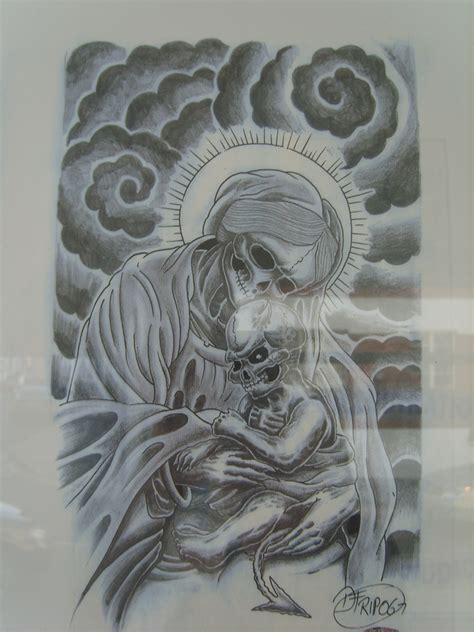 tattoo flash religious pin religious tattoo flash about images last on pinterest