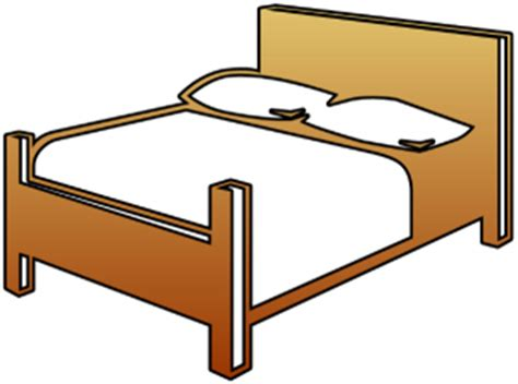 Clip Bed by Bed Clip Black And White Clipart Panda Free