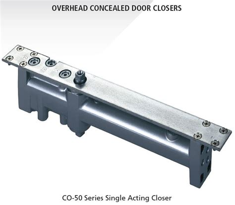 Concealed Overhead Door Closers Co 30 Co 50 Concealed Door Closers Templates And Knowledge Base