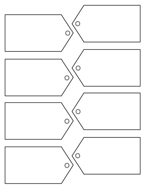 printable price tags free download christmas traditional tag template on right here