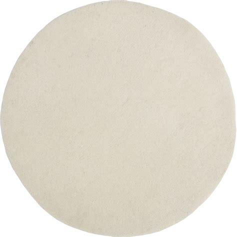 Tapis Rond Noir Et Blanc 3771 by Tapis Blanc Rond Blanc Diam 700 Mm Leroy Merlin