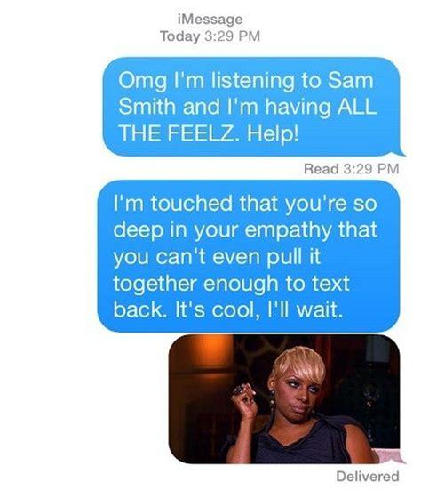 respond    doesnt text  fun