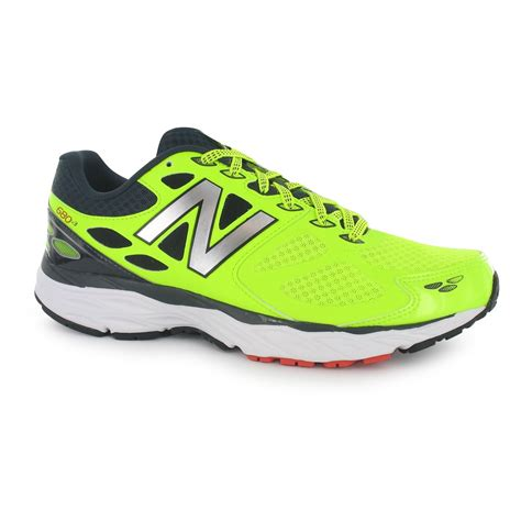 sports shoes new balance new balance mens m680v3 running shoes trainers lace up