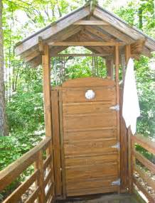 outdoor shower simple living