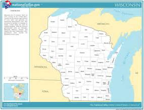 time zone and fips code for counties in wisconsin time