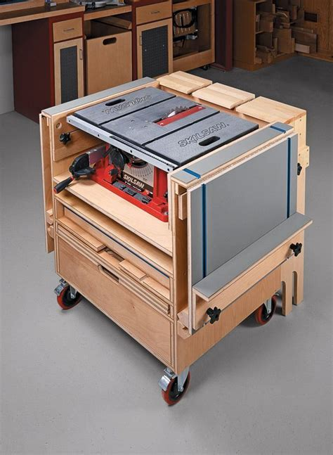 table  workstation   easy woodworking projects