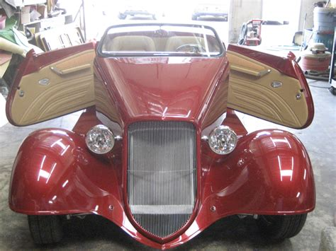 Franks Rod Upholstery by Frank S Rods Upholstery Custom Leather Roadster
