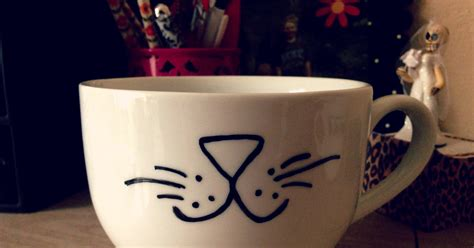 how to make designs on coffee giant cat mug 28 diy gifts for the cat lovers in your