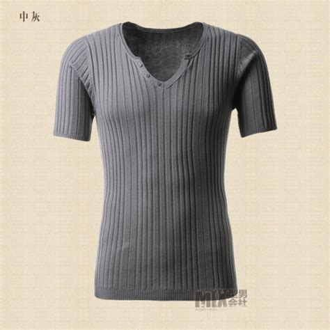 V Neck Slim Fit Knit Top buy tops tees sleeve t shirts brand fashion slim fit