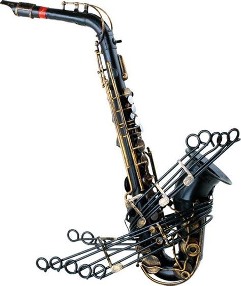 vintage decoratie bol vintage saxofoon thema muziek decoratie