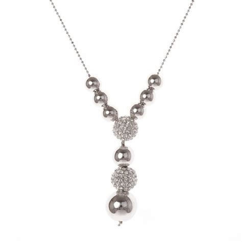 Modeschmuck Ketten by Modeschmuck Strass Kette Halsketten Halsketten