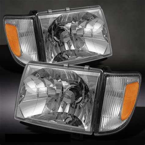 2000 Toyota Tacoma Headlights Toyota Tacoma 1997 2000 Clear Headlights And Corner