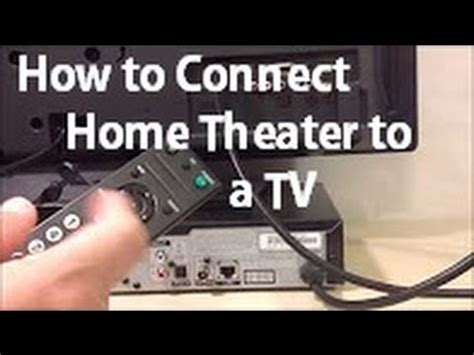 how to connect an hdtv to your sound system or home