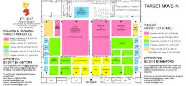 La Convention Center Floor Plan prospective e3 2017 floor plan shows atlus and sega