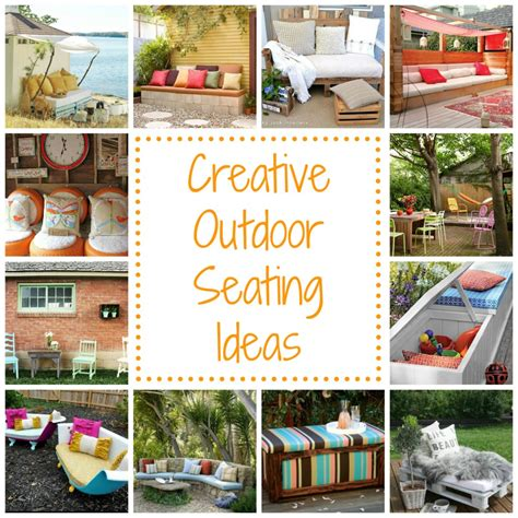 outdoor seating ideas cheap 12 outdoor seating ideas homes