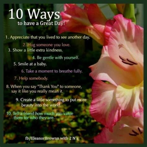 10 Ways To Get A To Notice You At School by 10 Ways To A Great Day Pictures Photos And Images
