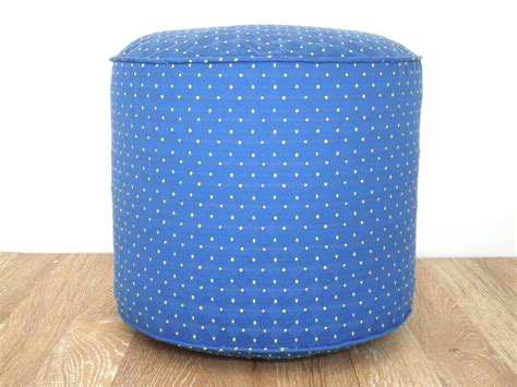 pouf ottoman nursery blue pouf ottoman 18 nursery pouf blue and yellow