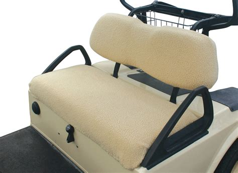 golf cart seat upholstery golf cart seat cover classic accessories fleece golf cart