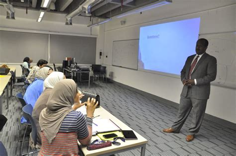Mba American Kuwait by Gust Mba Organize Seminar About High Level It In Business