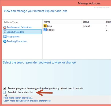 how to uninstall omnibox from ie how to disable search suggestions in internet explorer