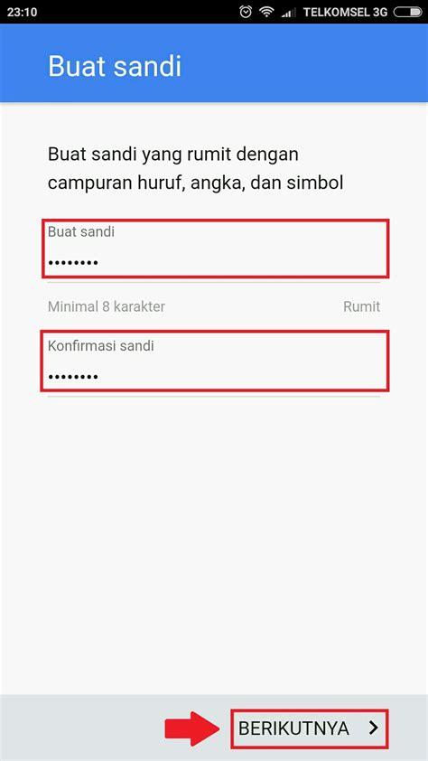 cara membuat gmail baru pada android contoh cara daftar email gmail baru di hp android lengkap