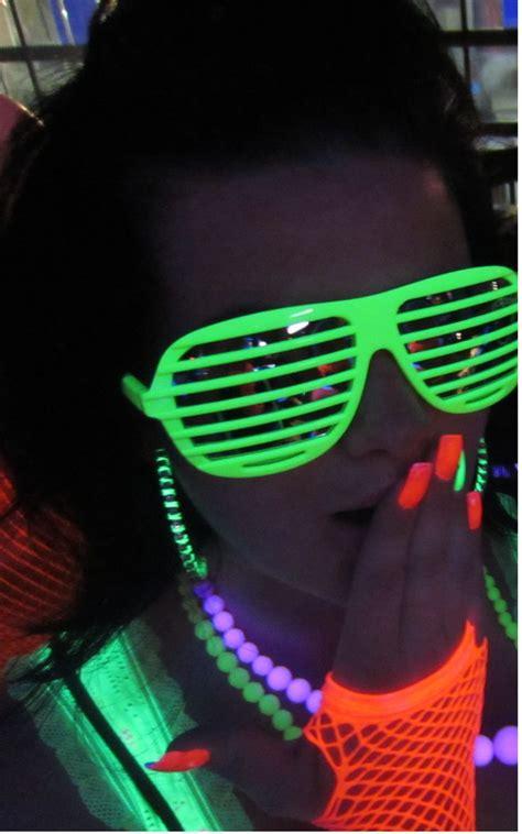 black light party supplies neon party ideas