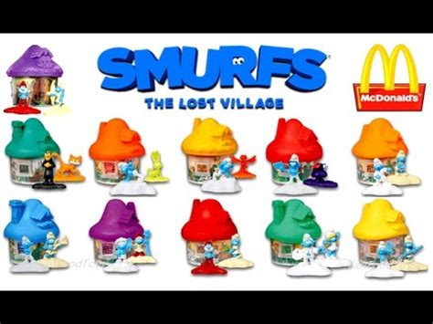2017 mcdonald s smurfs happy meal toys world collection review europe asia uk us 3