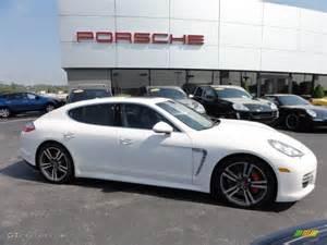 White On White Porsche Panamera Porsche Panamera Turbo White 2014