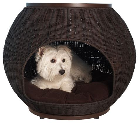 dog igloo bed igloo pet bed contemporary dog beds by the refined canine