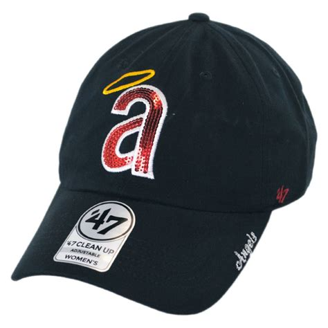 baseball cap logos of brands 47 brand los angeles angels of anaheim mlb sparkle