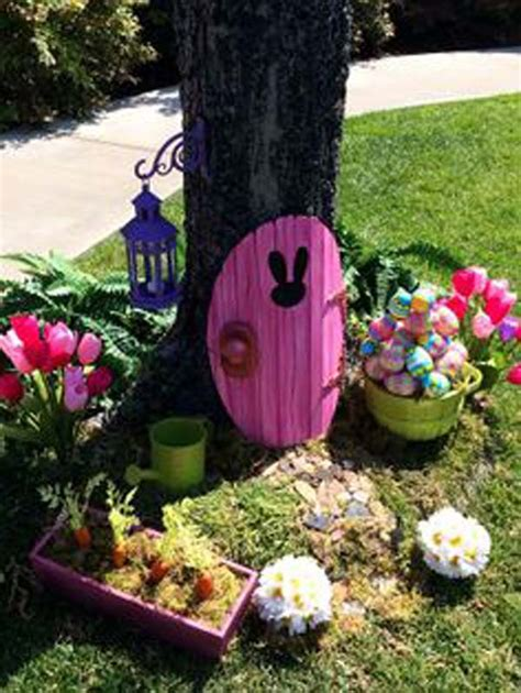 diy garden decor ideas 29 cool diy outdoor easter decorating ideas amazing diy