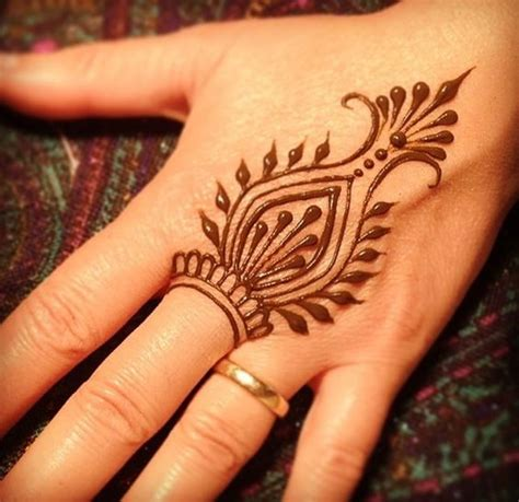 design henna kaki simple 60 simple henna tattoo designs to try at least once