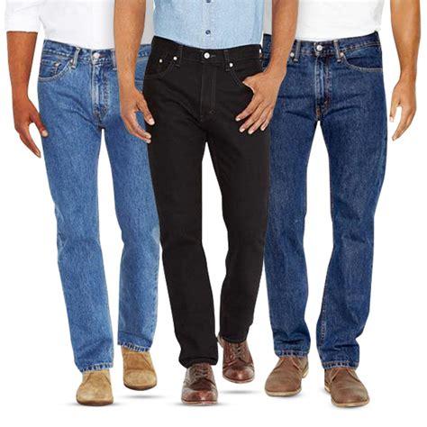 Sw Celana Pria Slimfit Biowash celana pria standar reguler fit basic denim