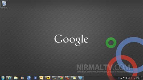 google themes with stylish google theme for windows 7