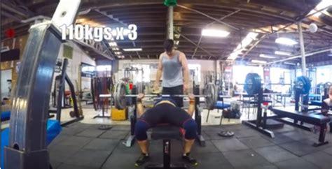 raw bench press training news cathy millen