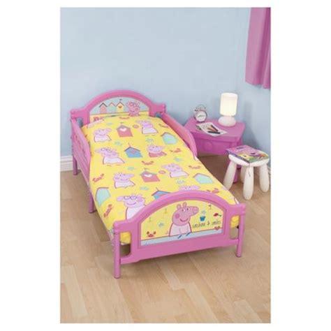 Peppa Pig Junior Bed Set Buy Peppa Pig Junior Bed Bedding Set From Our Baby Bedding Range Tesco
