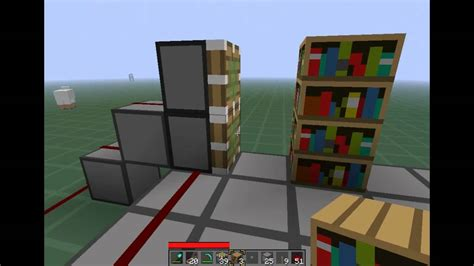 minecraft tutorial pistons secret bookcase door