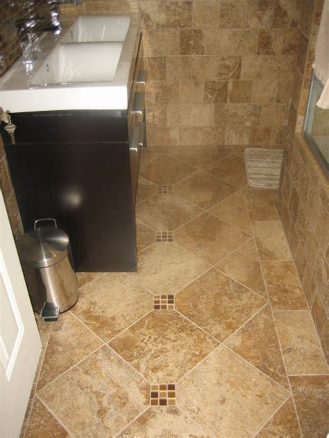 bathroom tile floor ideas bathroom designs stunning modern style vanity in small