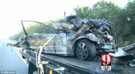 car crash ocala fl lanessa riobe watches and burn to