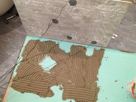 fliese und kleber höhe led spots in bodenfliese einbauen hausbau ein baublog